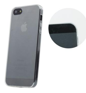 Pouzdro Back Case Ultra Slim 0,3mm pro Apple iPhone 5/5S, čiré