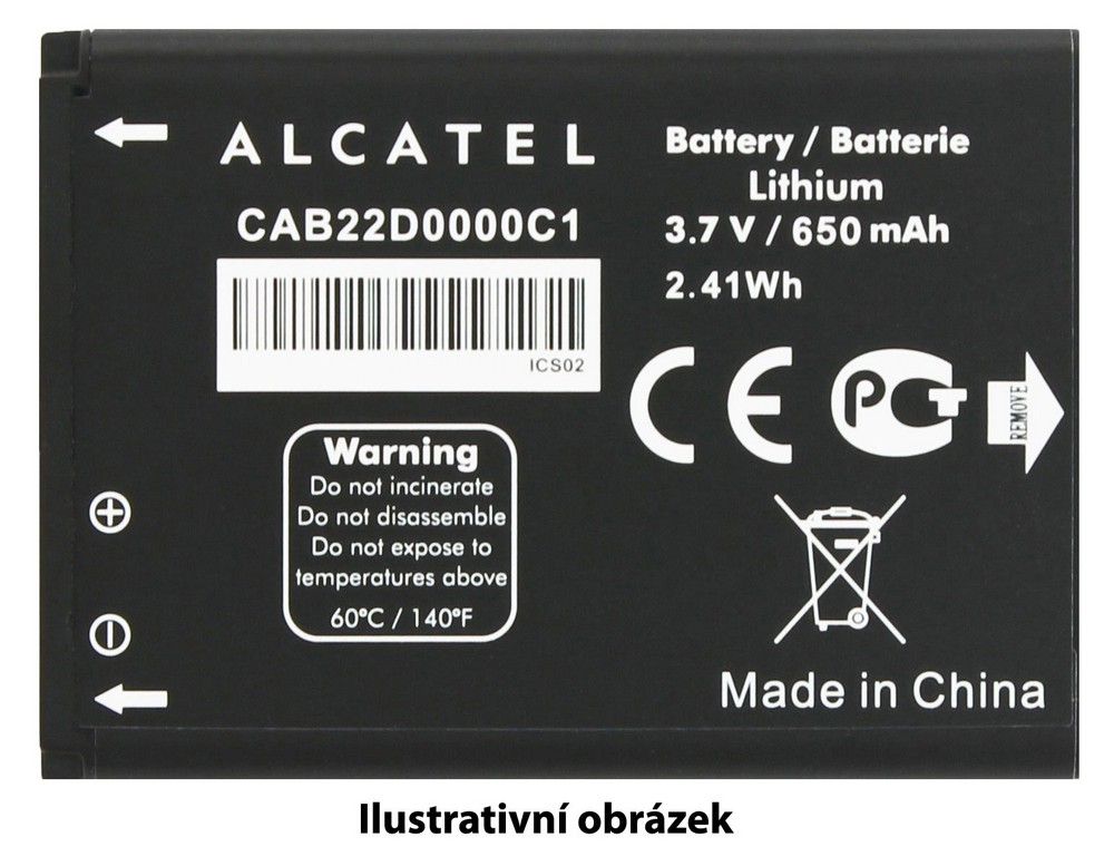 ALCATEL ONETOUCH Baterie 2.500mAh 6043D