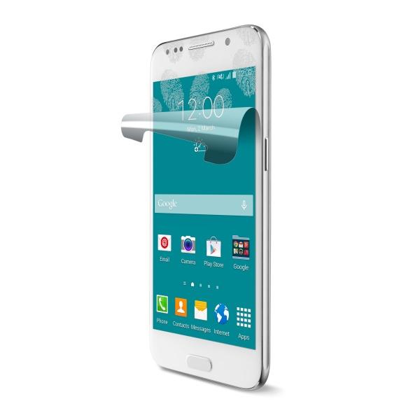 Ochranná fólie displeje CellularLine OK Display proti otiskům prstů pro Samsung Galaxy S6, 2ks