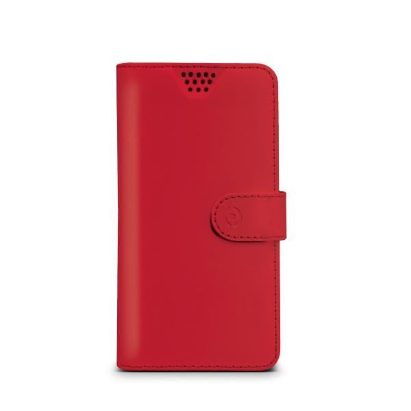 """Pouzdro CELLY Wally Unica velikost XL 4,5"""" - 5"""" červené"""