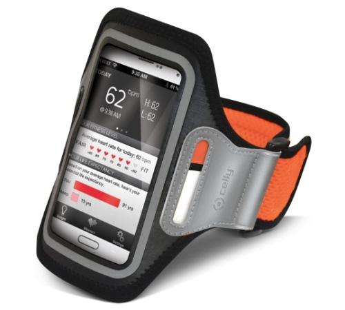 Pouzdro CELLY sportovní velikost XXL oranžové - Pouzdra na ruku ... d6b6f27f0f8