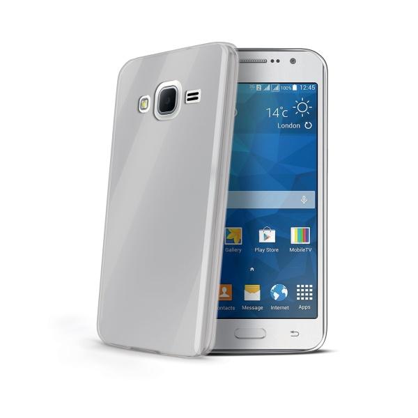 Silikonové pouzdro CELLY Gelskin pro Samsung Galaxy Grand Prime bezbarvé
