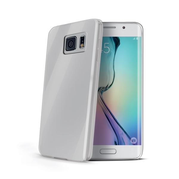 Pouzdro pro Samsung Galaxy S6 Edge CELLY Gelskin bezbarvé