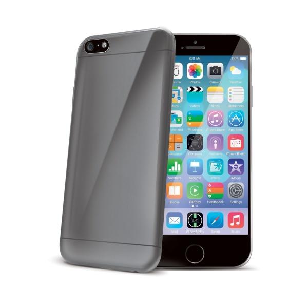 Silikonové pouzdro Celly Ultrathin pro Apple iPhone 6 kouřové
