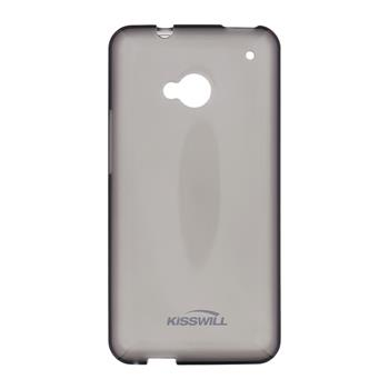 Kisswill silikonové pouzdro HTC ONE M7 černé