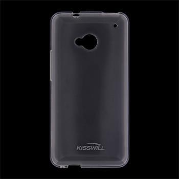 Kisswill silikonové pouzdro HTC ONE M7 bílé
