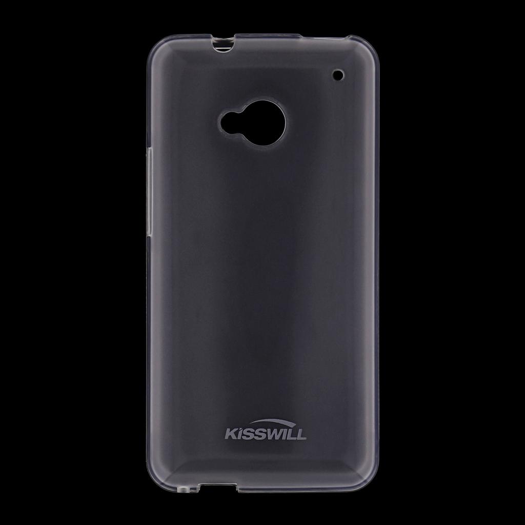 Kisswill silikonové pouzdro HTC ONE M9 bílé