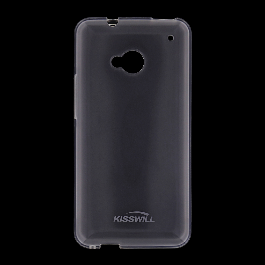 Kisswill silikonové pouzdro HTC ONE 2 M8 bílé