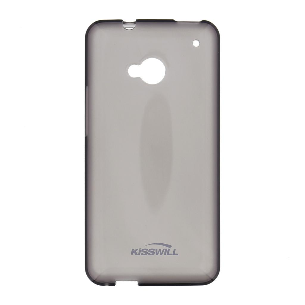Kisswill silikonové pouzdro Samsung Galaxy S6 Edge černé
