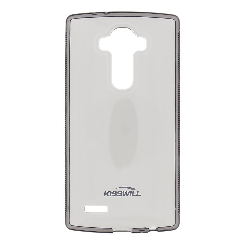 Kisswill silikonové pouzdro LG G4 černé