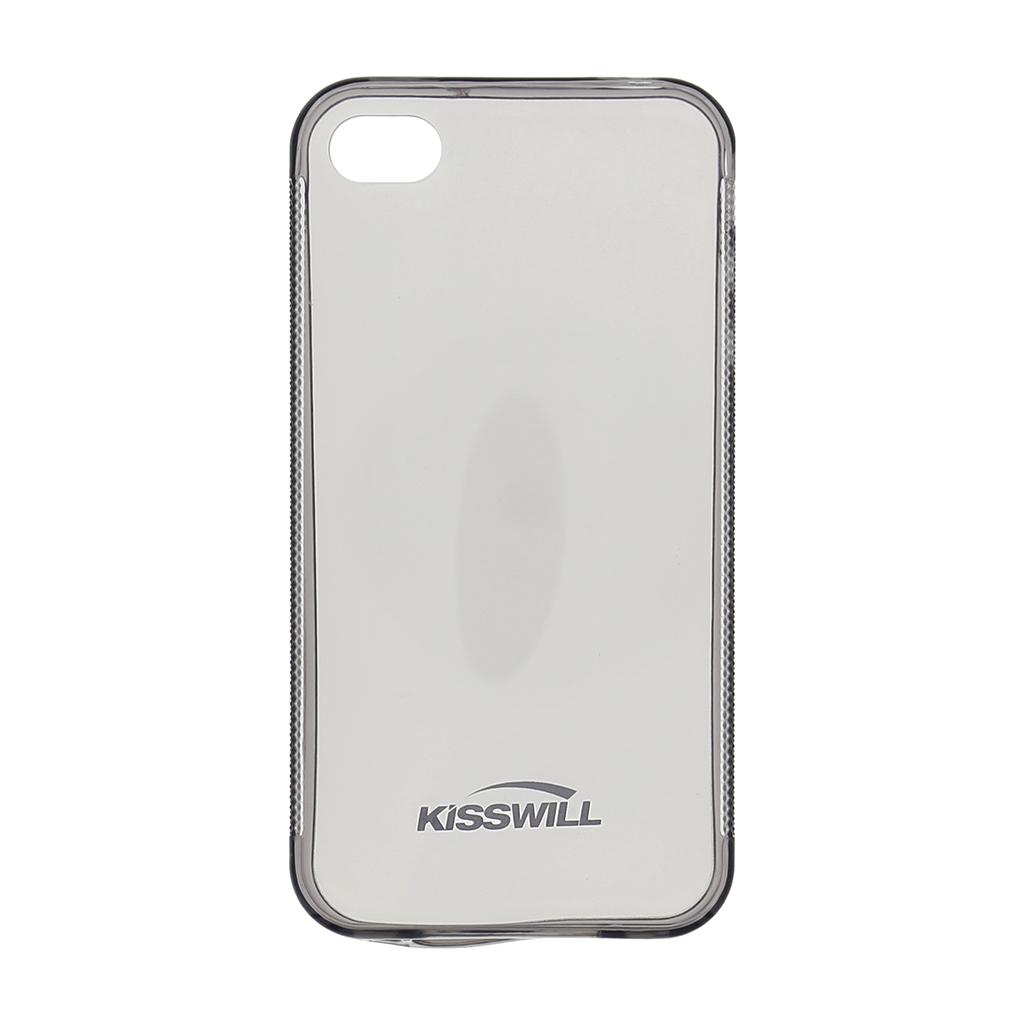 Kisswill silikonové pouzdro iPhone 4/4S černé