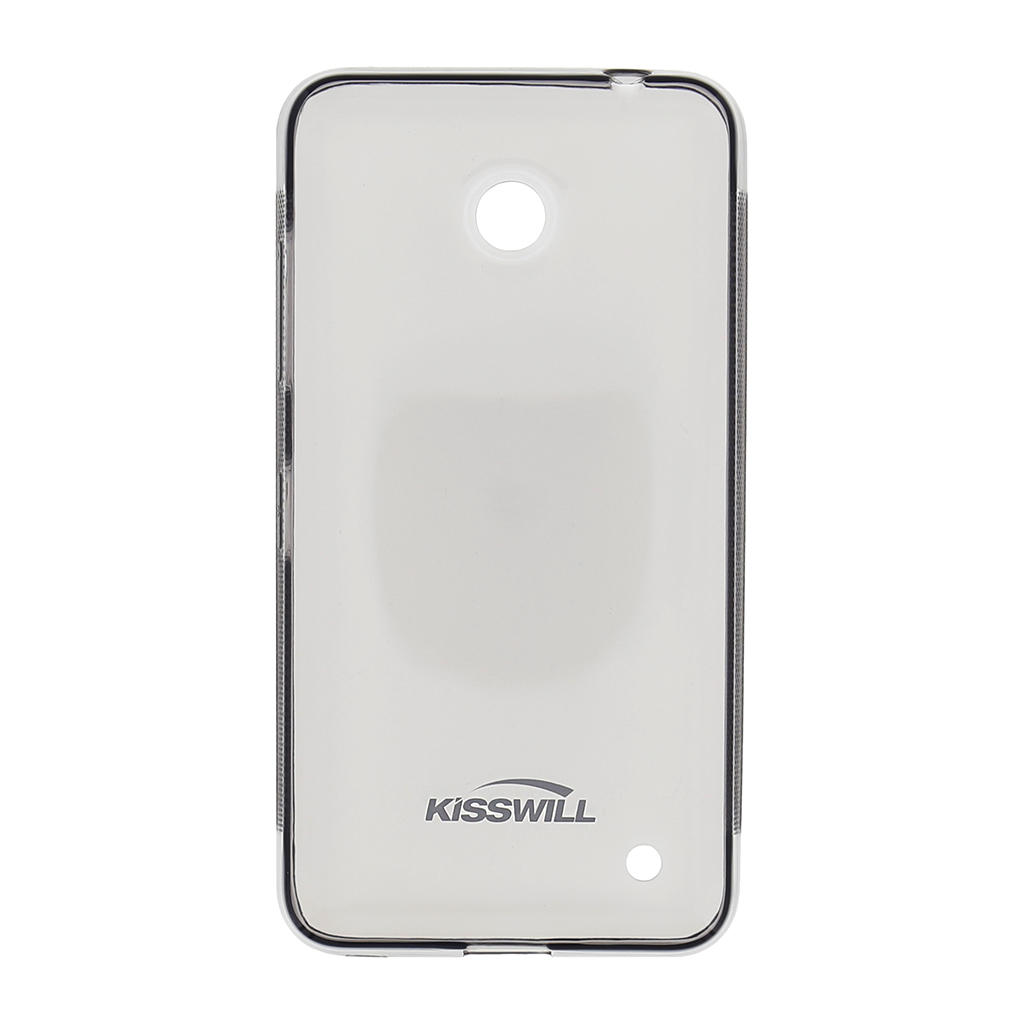 Kisswill silikonové pouzdro Nokia Lumia 630 černé