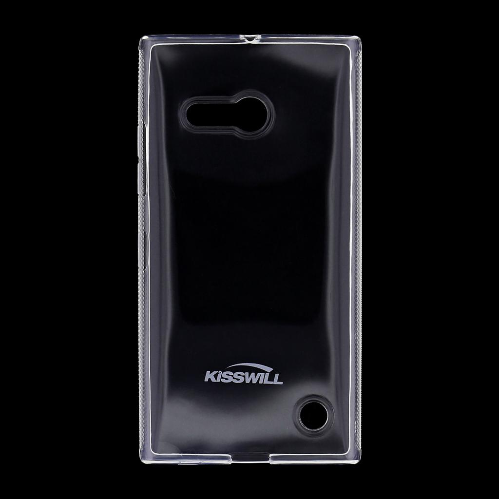 Kisswill silikonové pouzdro Nokia Lumia 730 bílé