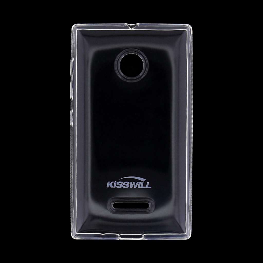 Kisswill silikonové pouzdro Nokia Lumia 532 bílé