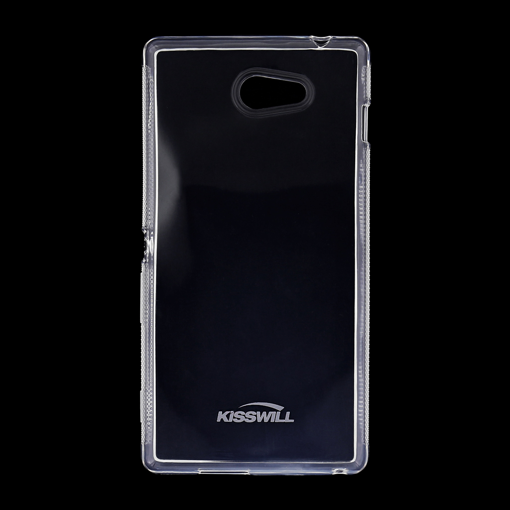 Kisswill silikonové pouzdro Sony Xperia M2 bílé