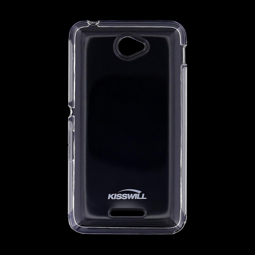 Kisswill silikonové pouzdro Sony Xperia E4 bílé