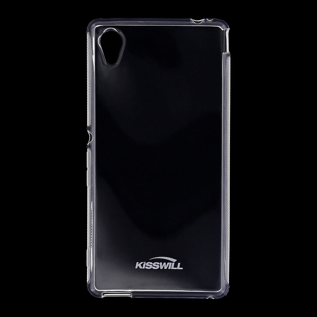 Kisswill silikonové pouzdro Sony Xperia M4 Aqua bílé