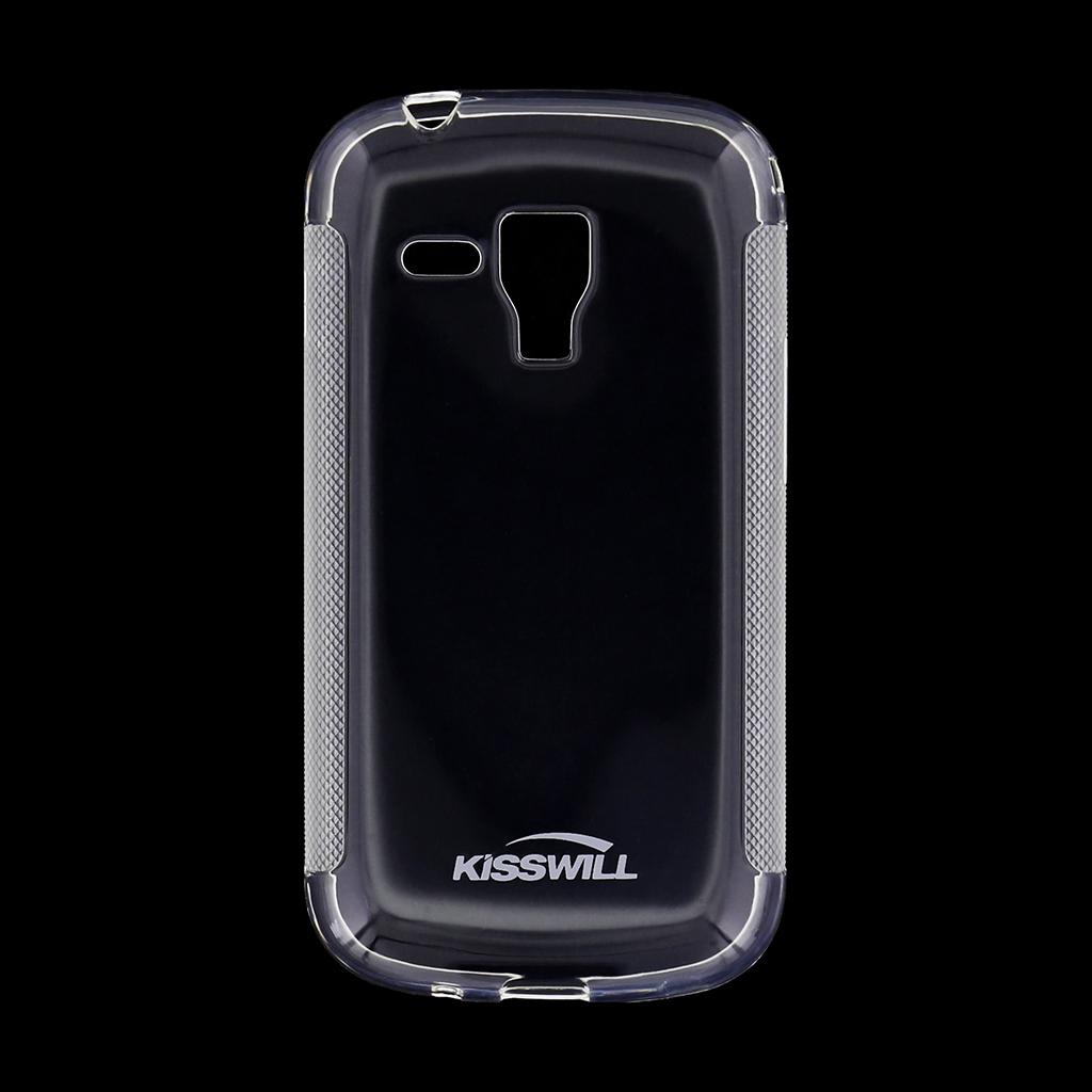 Kisswill silikonové pouzdro Samsung Galaxy Trend bílé