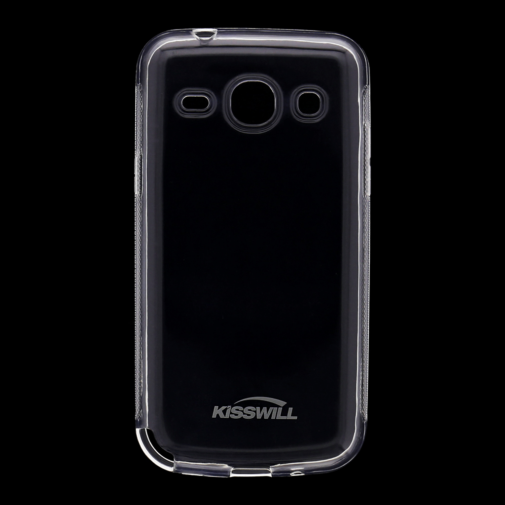 Kisswill silikonové pouzdro Samsung Galaxy Core Plus G350 bílé