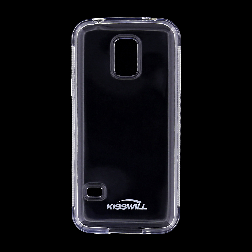 Kisswill silikonové pouzdro Samsung Galaxy S5 mini G800 bílé
