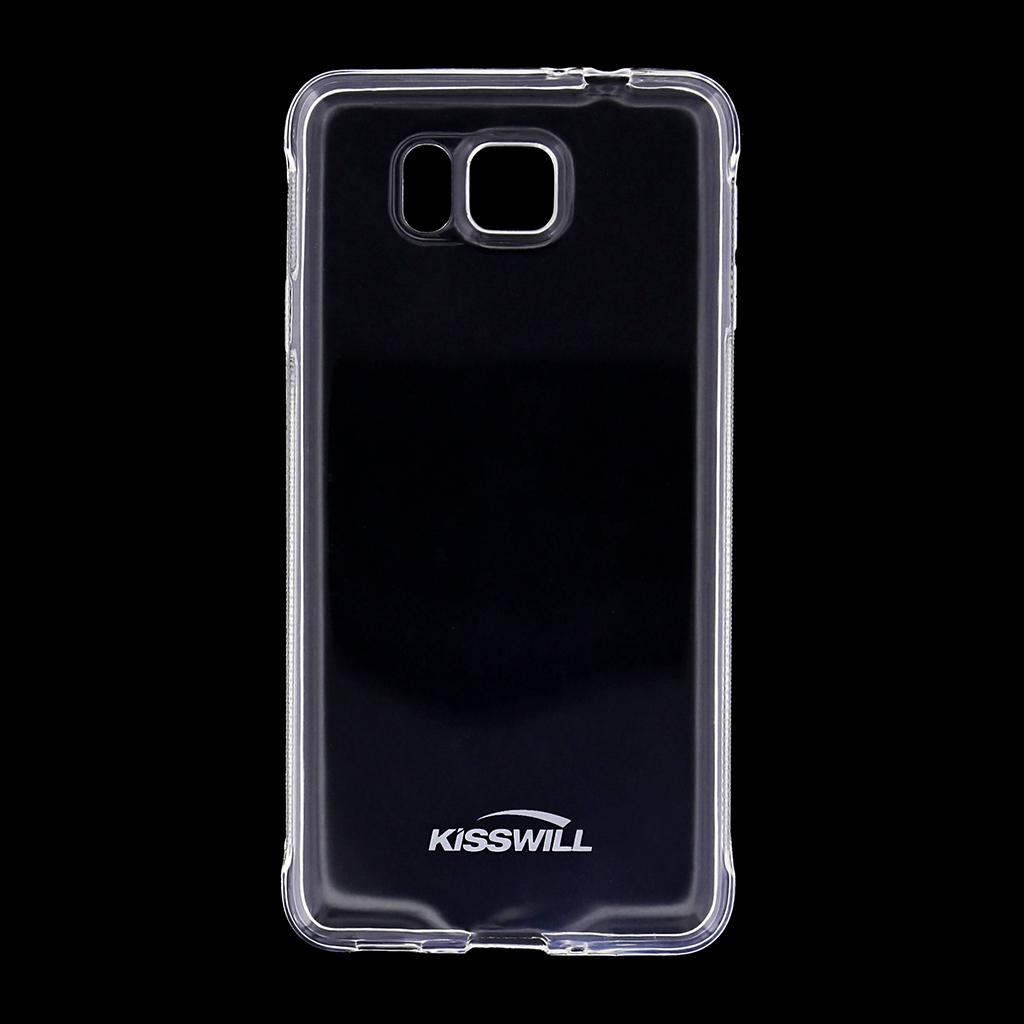 Kisswill silikonové pouzdro Samsung Galaxy Alpha G850 bílé