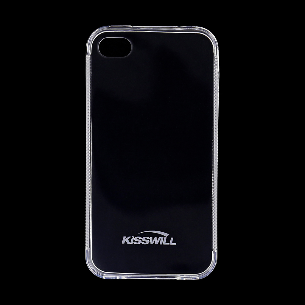 Kisswill silikonové pouzdro iPhone 4/4S berbarvé
