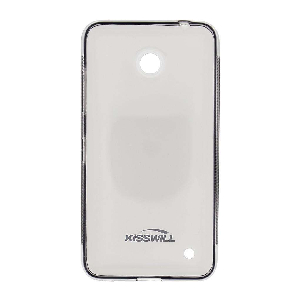 Kisswill silikonové pouzdro Nokia Lumia 640 černé