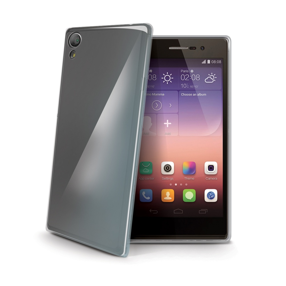 Silikonové pouzdro pro Huawei P8 CELLY Gelskin bezbarvé