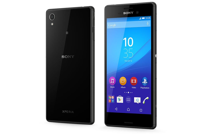 Mobilní telefon Sony Xperia M4 Aqua E2303 BlackZDARMA Protiskluzová podložka pro mobilní telefony v hodnotě 199 Kč. + DOPRAVA ZDARMA
