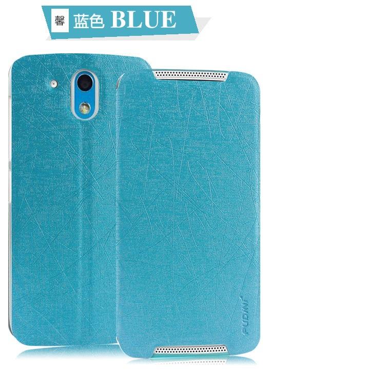Flipové pouzdro na Sony Xperia M4 Aqua modré Pudini
