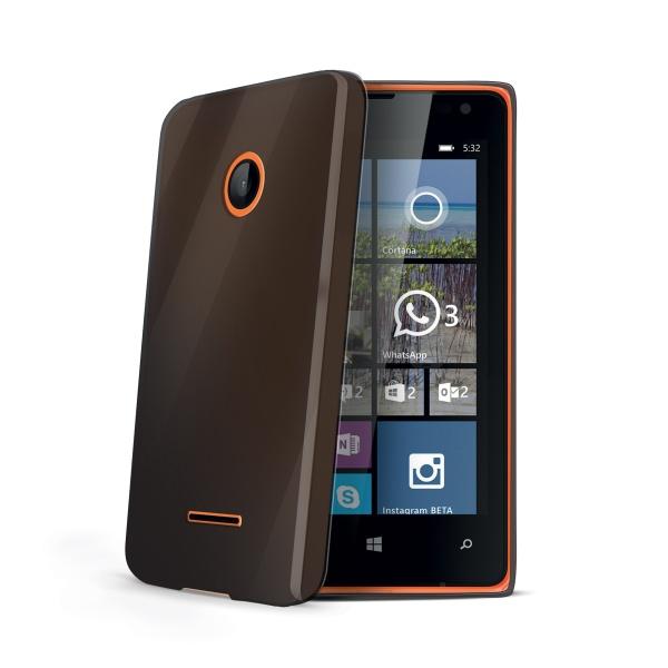 Silikonové pouzdro CELLY Gelskin pro Microsoft Lumia 532 černé