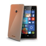 Silikonové pouzdro CELLY Gelskin Microsoft Lumia 435 čiré