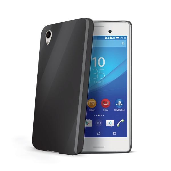 Silikonové pouzdro Gelskin Sony Xperia M4 Aqua černé