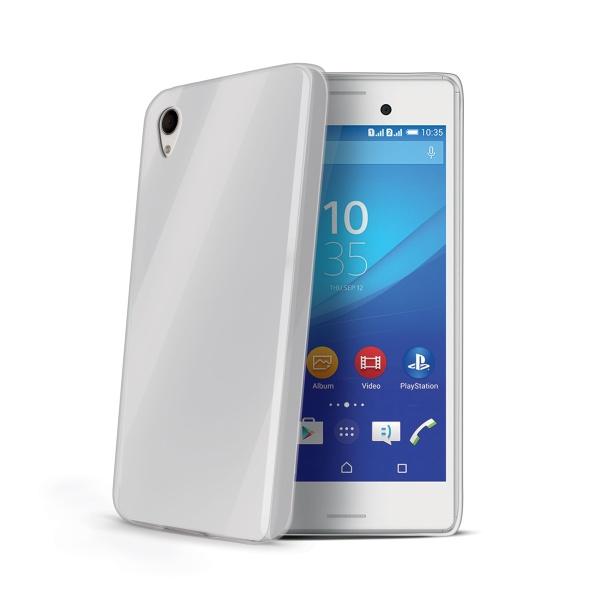 Silikonové pouzdro Gelskin pro Sony Xperia M4 Aqua čiré