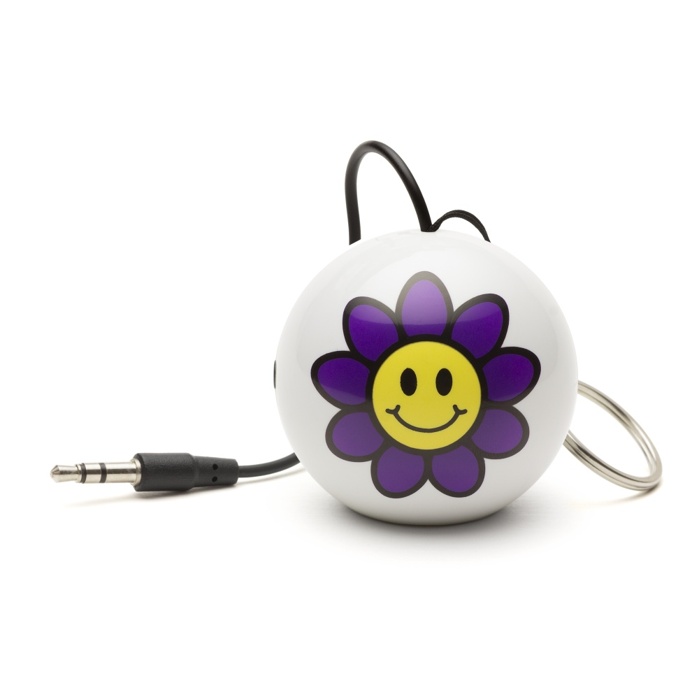 Reproduktor KITSOUND Mini Buddy Flower, 3,5 mm jack