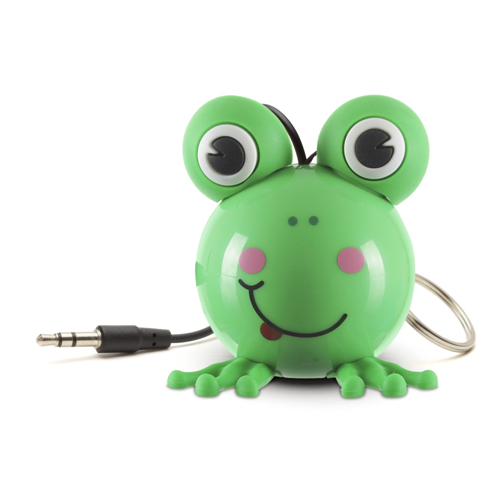 Reproduktor KITSOUND Mini Buddy Frog, 3,5 mm jack