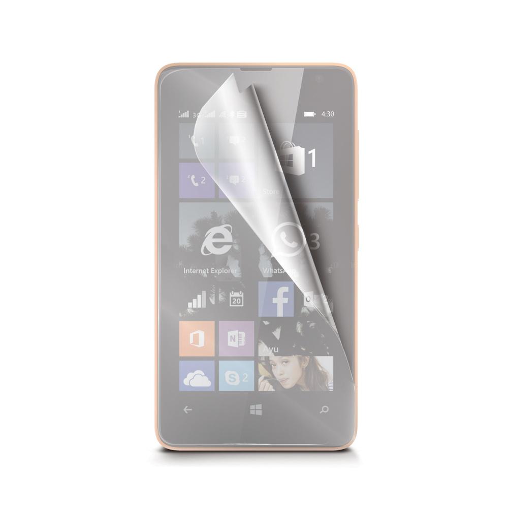 Ochranná fólie CELLY pro Microsoft Lumia 430 lesklá, 2ks