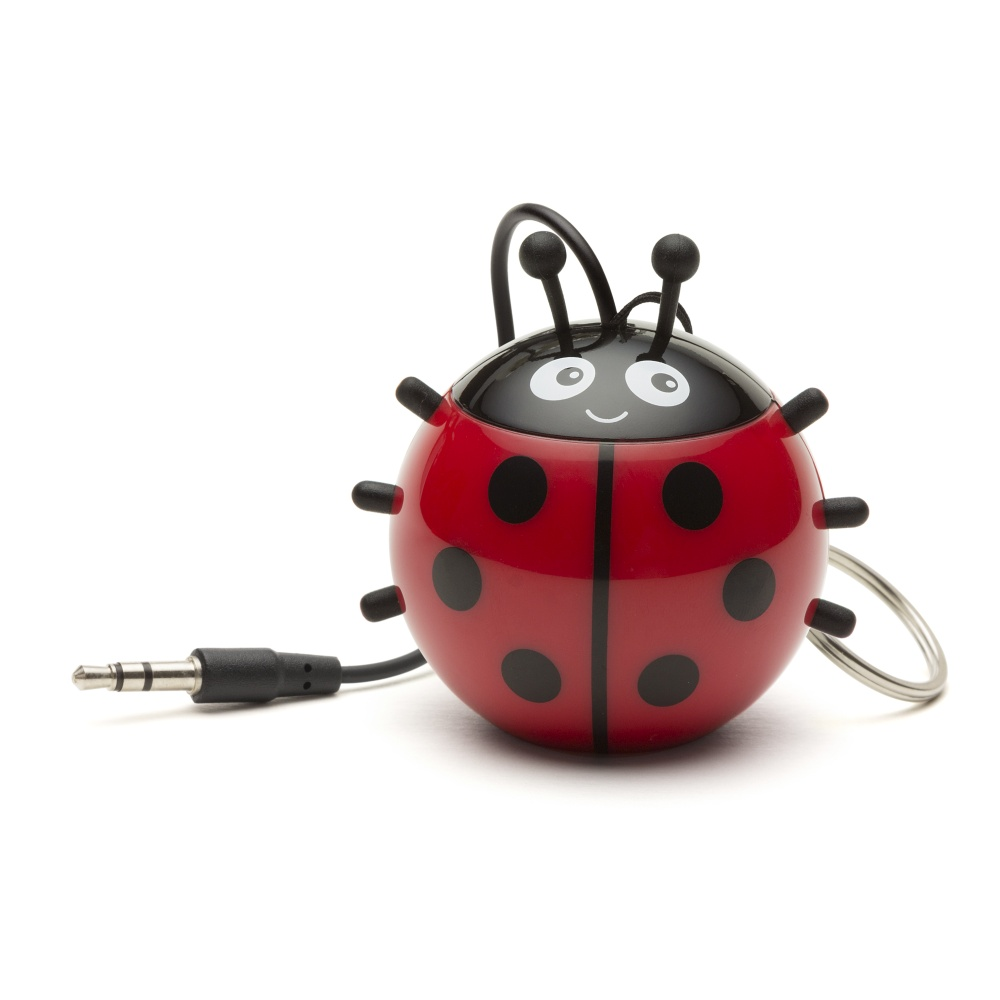 Reproduktor KITSOUND Mini Buddy Ladybird, 3,5 mm jack
