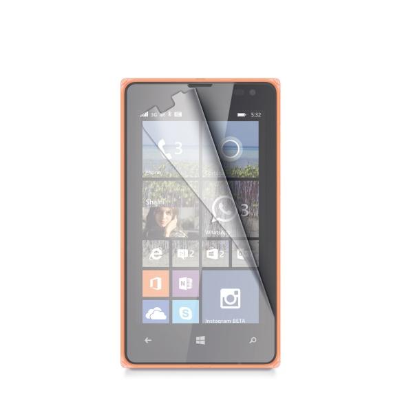 Ochranná fólie CELLY pro Microsoft Lumia 532 lesklá, 2ks