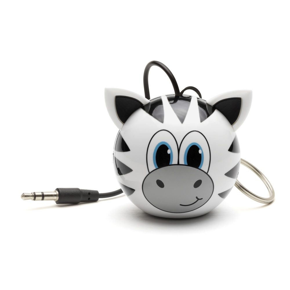 Reproduktor KITSOUND Mini Buddy Zebra, 3,5 mm jack