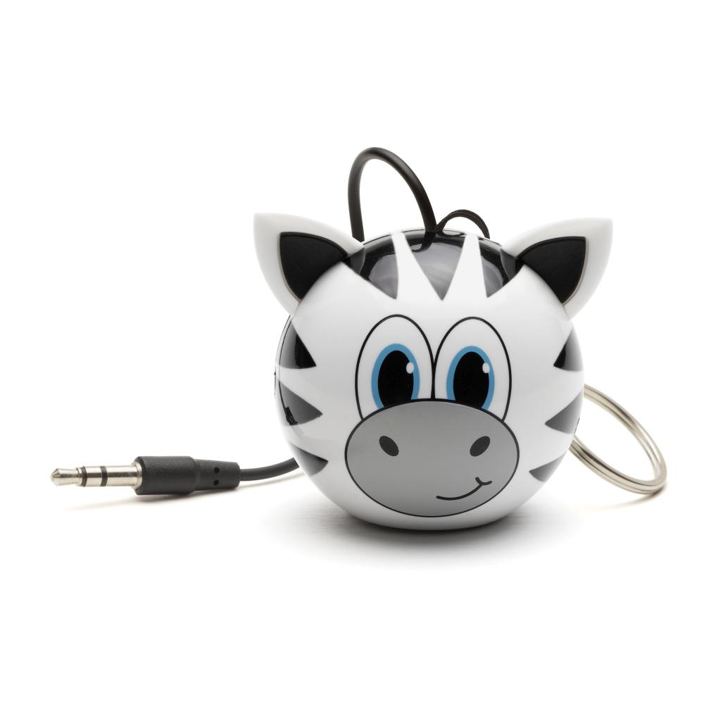 Reproduktor KITSOUND Mini Buddy Zebra, 3,5 mm jack