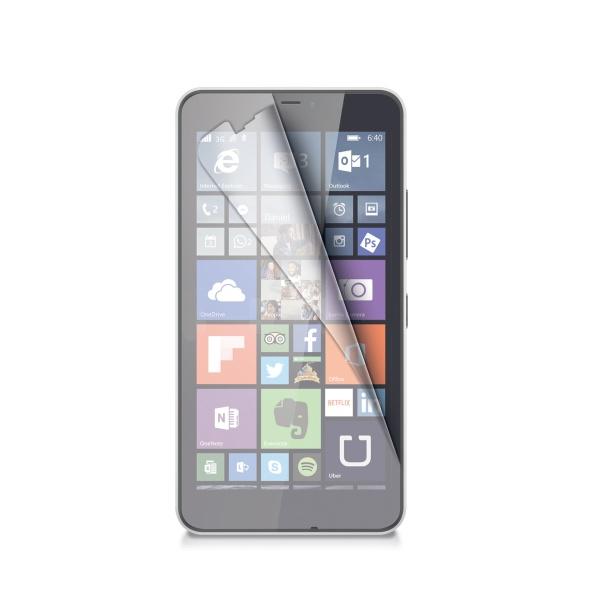 Ochranná fólie CELLY Microsoft Lumia 640 XL/640 XL Dual SIM lesklá 2ks