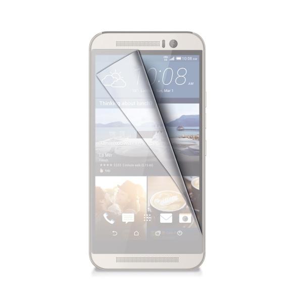 Ochranná fólie CELLY pro HTC One (M9), lesklá, 2ks