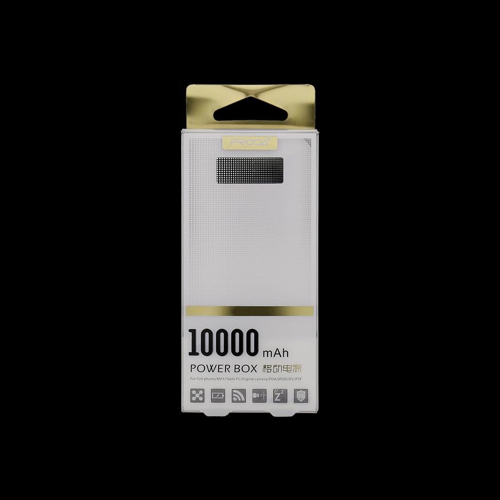 Remax Proda PowerBank 10000mAh Li-Pol bílá