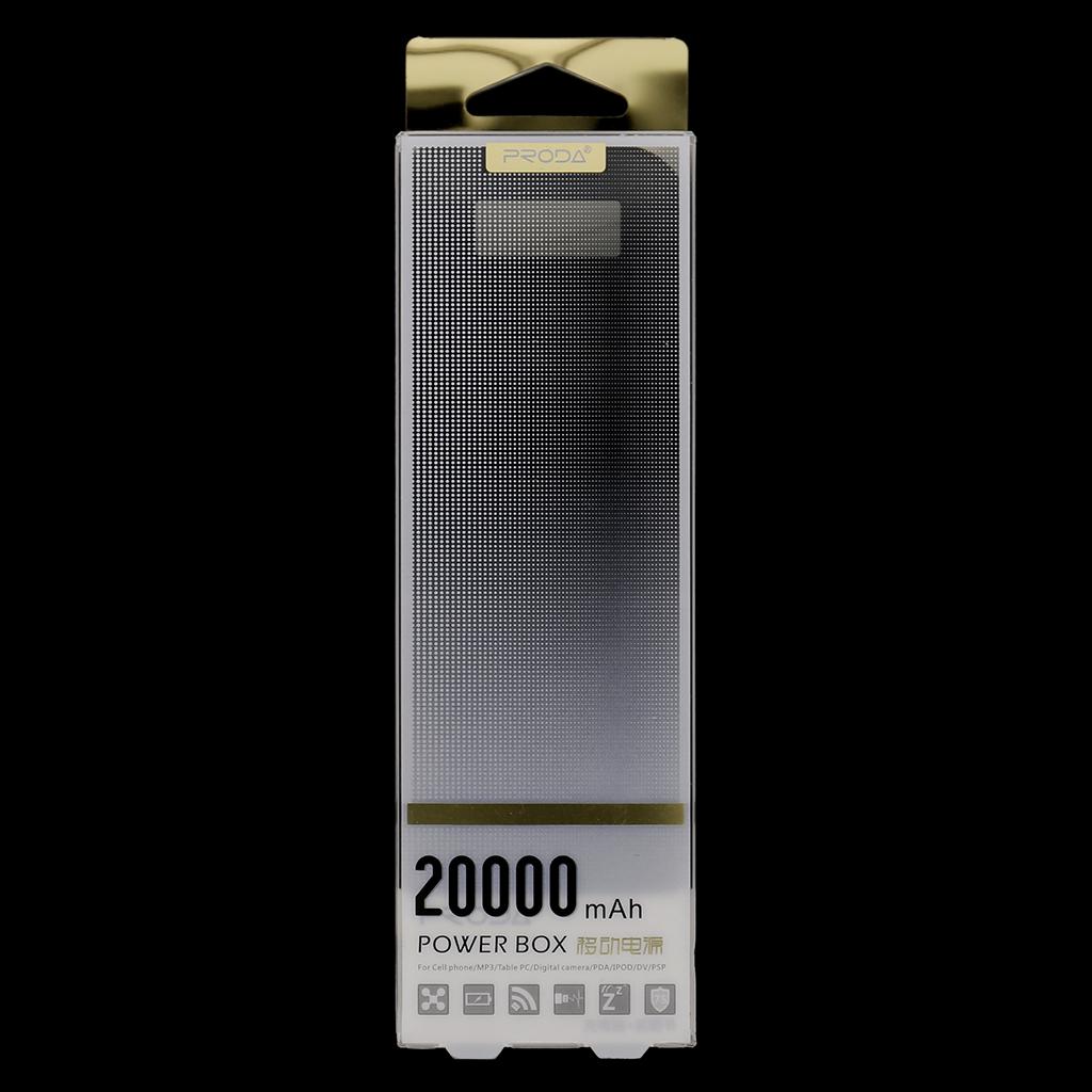 Remax Proda PowerBank 20000mAh Li-Pol černá