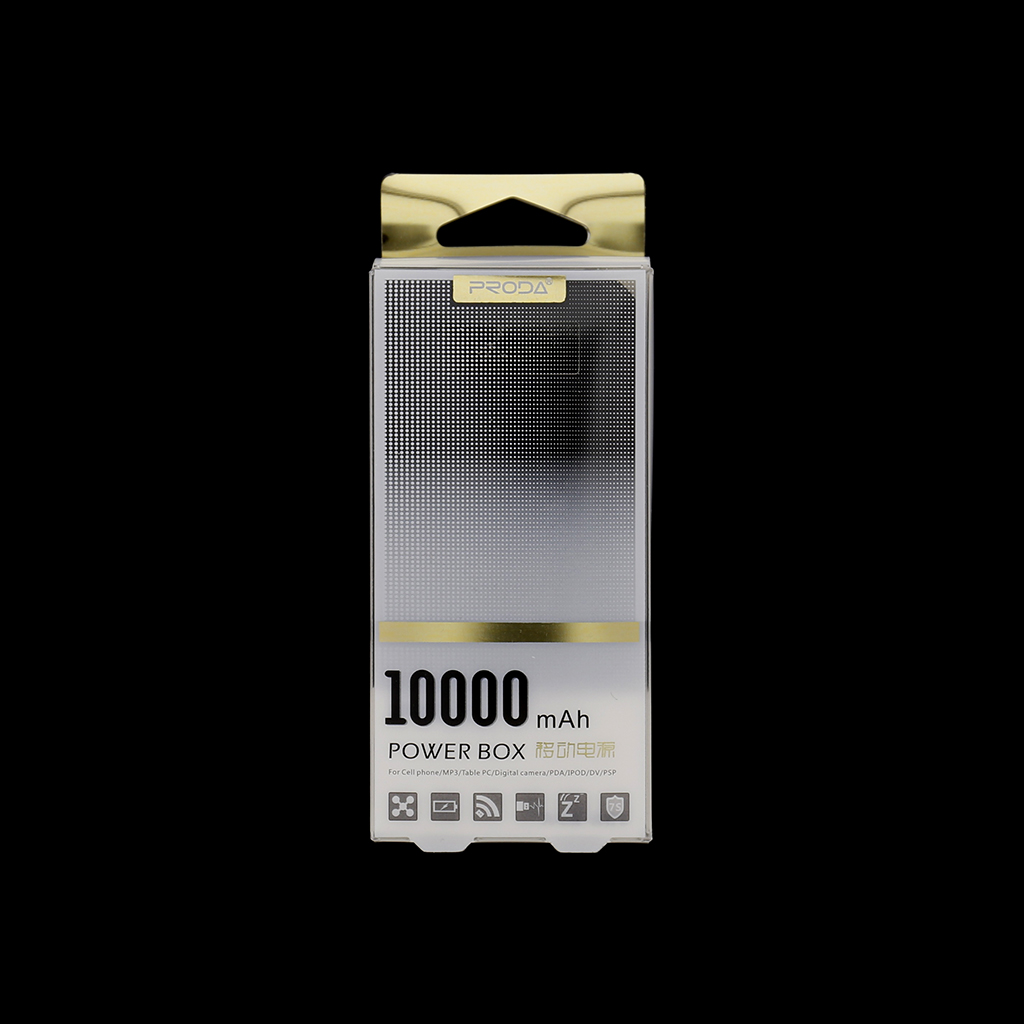 Remax Proda PowerBank 10000mAh Li-Pol černá
