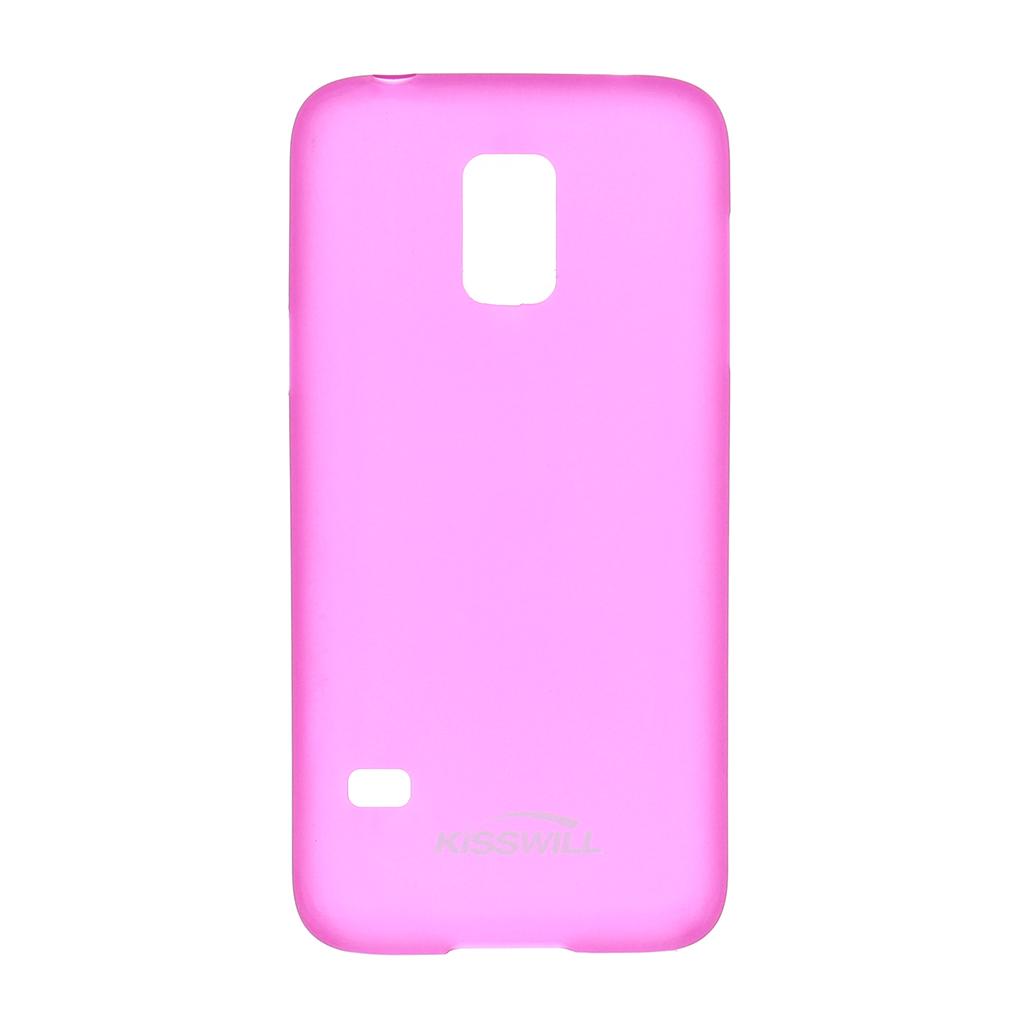 Pouzdro Slim Protective 0,3mm pro Samsung Galaxy S5 mini růžové