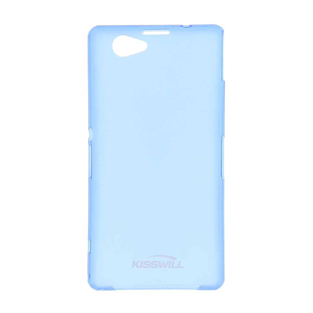Pouzdro Kisswill Slim Protective 0,3mm pro Samsung Trend modré