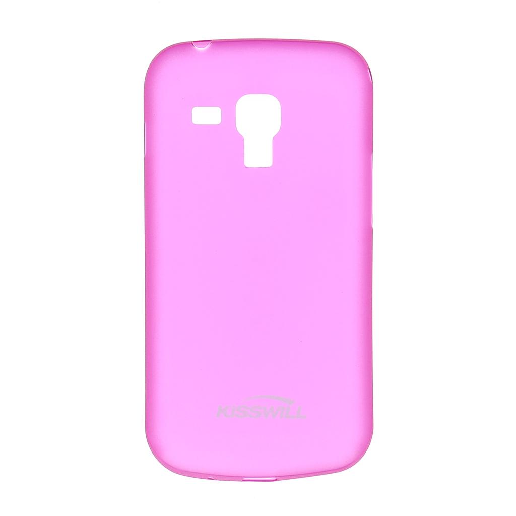Pouzdro Slim Protective 0,3mm pro Samsung Trend růžové