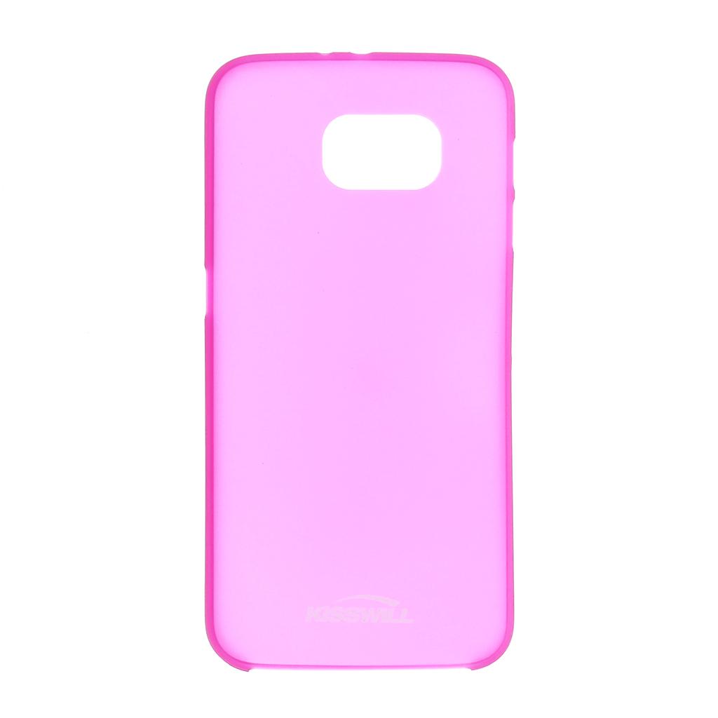 Pouzdro Slim Protective 0,3mm pro Samsung S6 G920 růžové